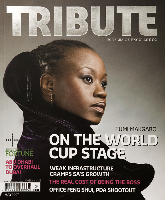 Tribute Mag Cover - Steve Karallis